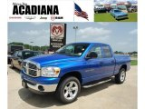 Electric Blue Pearl Dodge Ram 1500 in 2007