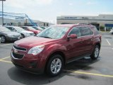 2010 Cardinal Red Metallic Chevrolet Equinox LT #32898660