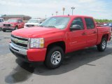 2010 Victory Red Chevrolet Silverado 1500 LS Crew Cab 4x4 #32898668