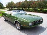 1973 Medium Green Metallic Ford Mustang Convertible #32898850