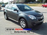 2010 Cyber Gray Metallic Chevrolet Equinox LT #32898701
