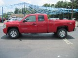 2010 Victory Red Chevrolet Silverado 1500 LT Extended Cab 4x4 #32898904