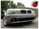 2004 Silver Grey Metallic BMW 3 Series 330i Convertible #32898455