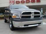 2010 Mineral Gray Metallic Dodge Ram 1500 ST Quad Cab #32898750