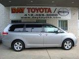 2011 Silver Sky Metallic Toyota Sienna LE #32898289