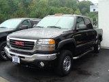 2006 Onyx Black GMC Sierra 2500HD SLE Crew Cab 4x4 #32898507