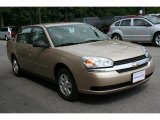 2005 Light Driftwood Metallic Chevrolet Malibu LS V6 Sedan #32898980