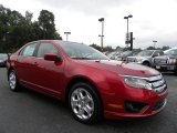 2010 Red Candy Metallic Ford Fusion SE V6 #32898356