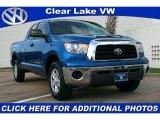2008 Blue Streak Metallic Toyota Tundra Double Cab #32899015