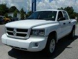 2010 Stone White Dodge Dakota Big Horn Crew Cab #32945051