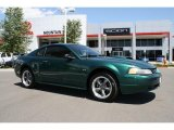 2001 Dark Highland Green Ford Mustang GT Coupe #32944871