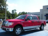 2010 Vermillion Red Ford F150 XLT SuperCrew #32945004