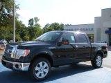2010 Tuxedo Black Ford F150 Lariat SuperCrew #32945018