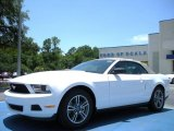 2011 Performance White Ford Mustang V6 Premium Convertible #32945026