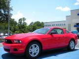 2011 Race Red Ford Mustang V6 Coupe #32945027