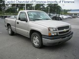 2004 Silver Birch Metallic Chevrolet Silverado 1500 LS Regular Cab #32945357
