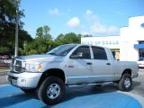 2007 Bright Silver Metallic Dodge Ram 3500 Laramie Mega Cab 4x4 #32945039