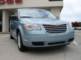 2010 Clearwater Blue Pearl Chrysler Town & Country LX #32966312