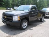 2011 Black Granite Metallic Chevrolet Silverado 1500 Regular Cab #32966407
