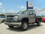 2007 Chevrolet Silverado 2500HD Work Truck Regular Cab 4x4 Chassis Data, Info and Specs