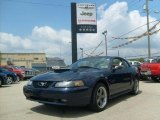 2001 True Blue Metallic Ford Mustang GT Coupe #32965936