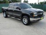 2004 Dark Gray Metallic Chevrolet Silverado 1500 Z71 Crew Cab 4x4 #32965959