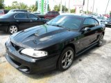 1996 Black Ford Mustang V6 Coupe #32966486