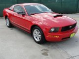 2007 Torch Red Ford Mustang V6 Deluxe Coupe #32965965