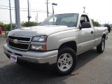 2006 Silver Birch Metallic Chevrolet Silverado 1500 LT Regular Cab 4x4 #32965516