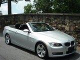 2007 Titanium Silver Metallic BMW 3 Series 335i Convertible #32965728