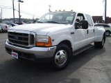 1999 Oxford White Ford F350 Super Duty Lariat Crew Cab Dually #32965517