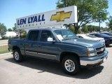 2007 Blue Granite Metallic Chevrolet Silverado 1500 Classic LS Crew Cab 4x4 #32965755