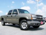2003 Light Pewter Metallic Chevrolet Silverado 1500 LS Crew Cab 4x4 #32965552