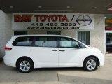 2011 Super White Toyota Sienna  #32965614