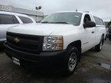 2008 Summit White Chevrolet Silverado 1500 Work Truck Regular Cab #32965625