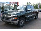 2002 Forest Green Metallic Chevrolet Silverado 1500 LS Extended Cab #32966719