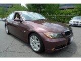 2007 Barrique Red Metallic BMW 3 Series 328i Sedan #32965638
