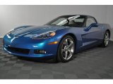 2008 Jetstream Blue Metallic Chevrolet Corvette Coupe #32966731