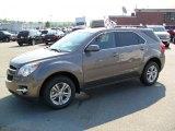 2010 Mocha Steel Metallic Chevrolet Equinox LT #32966526