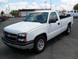 2006 Summit White Chevrolet Silverado 1500 Work Truck Regular Cab #32966529