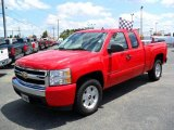 2007 Victory Red Chevrolet Silverado 1500 LT Extended Cab #32966531