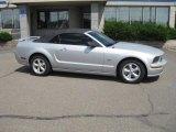 2007 Satin Silver Metallic Ford Mustang GT Premium Convertible #32966100
