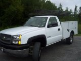 2004 Chevrolet Silverado 3500HD Regular Cab 4x4 Chassis Utility Data, Info and Specs