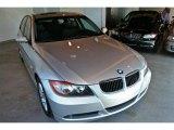 2008 Arctic Metallic BMW 3 Series 328i Sedan #32966769