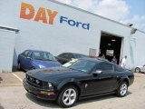 2007 Black Ford Mustang V6 Deluxe Coupe #32965708