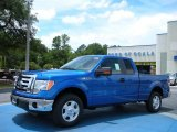 2010 Blue Flame Metallic Ford F150 XLT SuperCab #33081124