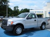 2010 Ingot Silver Metallic Ford F150 XL Regular Cab #33081131