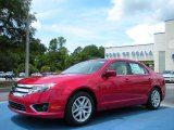 2010 Red Candy Metallic Ford Fusion SEL #33081132