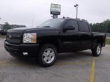 2010 Black Chevrolet Silverado 1500 LT Crew Cab #33081378