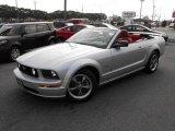 2005 Satin Silver Metallic Ford Mustang GT Premium Convertible #33080946
